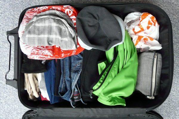 bagage check list voyage